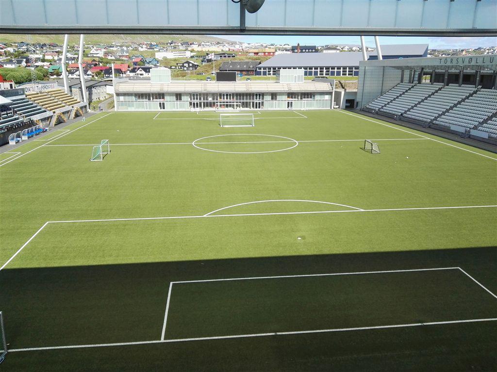 Constructel Dinamarca dotou com comunicações móveis o estádio onde Portugal jogou com as Ilhas Faroé